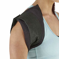 Cold wrap for shoulder