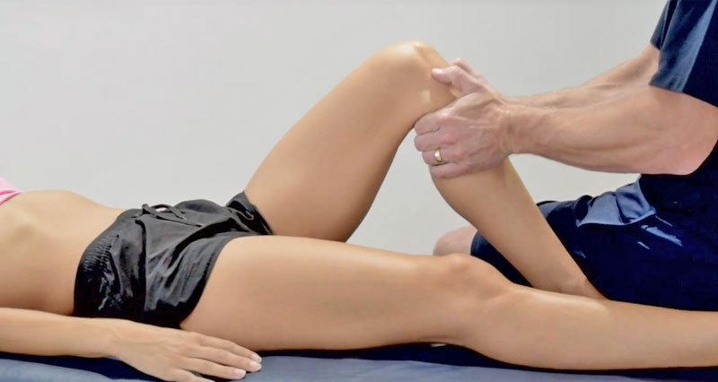 ACL sprain diagnosis and assessment