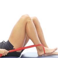 Heel slide knee mobility