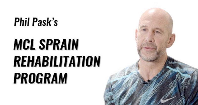 MCL sprain rehabilitation program