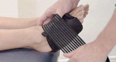 Cold foot wrap