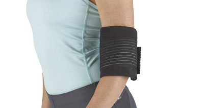 Cold wrap elbow