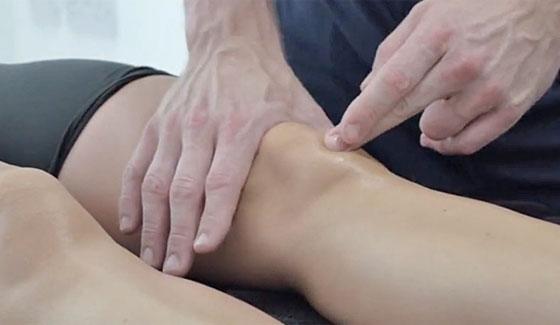 Patella tendon massage