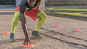agility for knee rehabilitation