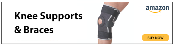 knee supports advert