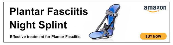 Plantar fasciitis night splint
